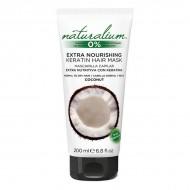 Výživná kapilárna maska Coconut Keratin Naturalium (200 ml)