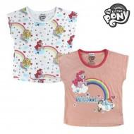 Koszulka z krótkim rękawem dla dzieci My Little Pony 2436 Różowy (rozmiar 4 lat)