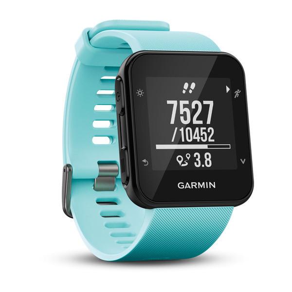 Chytré hodinky GARMIN Forerunner 35 GPS Tracking Waterproof 5 ATM Tyrkysová