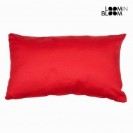 Poduszka Czerwony (50 x 30 x 12 cm) by Loom In Bloom