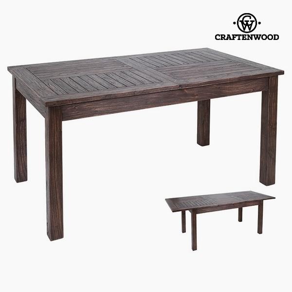 rozkládací stolek Dřevo mindi (160 x 90 x 79 cm) by Craftenwood