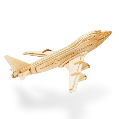 Dřevěné letadlo (skládačka)