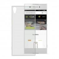 Puzdro na mobil Sony Xperia Xa1 Ultra Flex TPU Transparentná