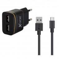 Ładowarka Ścienna Ref. 138321 2 x USB-A