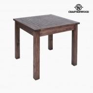 Asztal Imafüzérfa (90 x 90 x 78 cm) by Craftenwood