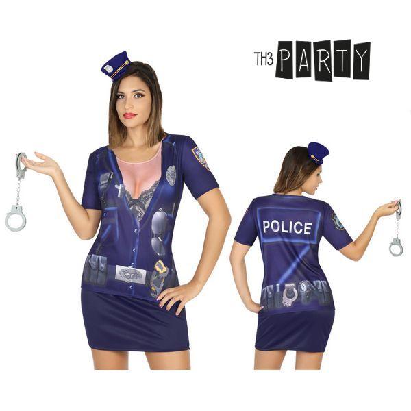 Tričko pro dospělé Th3 Party 8201 Policajtka
