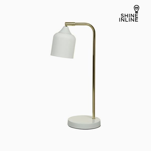 Stolní Lampa Bílý Hliník (22 x 14 x 46 cm) by Shine Inline