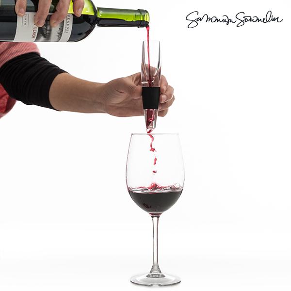 Wyrafinowany napowietrzacz do wina Summum Sommelier