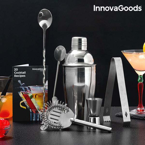 Set na Koktejly s Knihou Receptů InnovaGoods (6 částí)