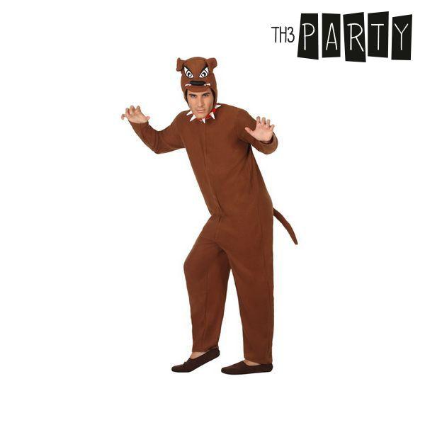 Kostium dla Dorosłych Th3 Party Pies Brązowy - XL