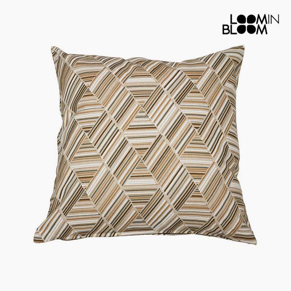 Polštářek Bavlna a polyester Béžový (60 x 60 x 10 cm) by Loom In Bloom