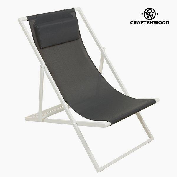 Garden chair Hliník Textilene Šedý by Craftenwood