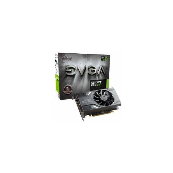 Herní grafická karta EVGA 03G-P4-6160-KR GTX 1060 ACX 2.0 3 GB|DDR5