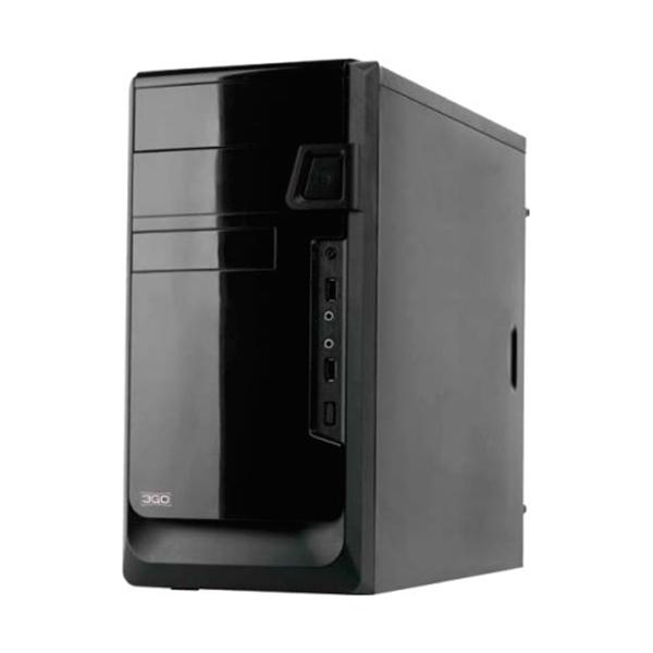 Semi Wieża Micro ATX z Zasilaniem 3GO NAIN 500W Czarny