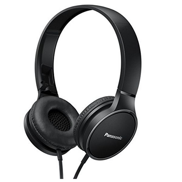 Sluchátka s mikrofonem Panasonic RP-HF300ME Černý Čelenka