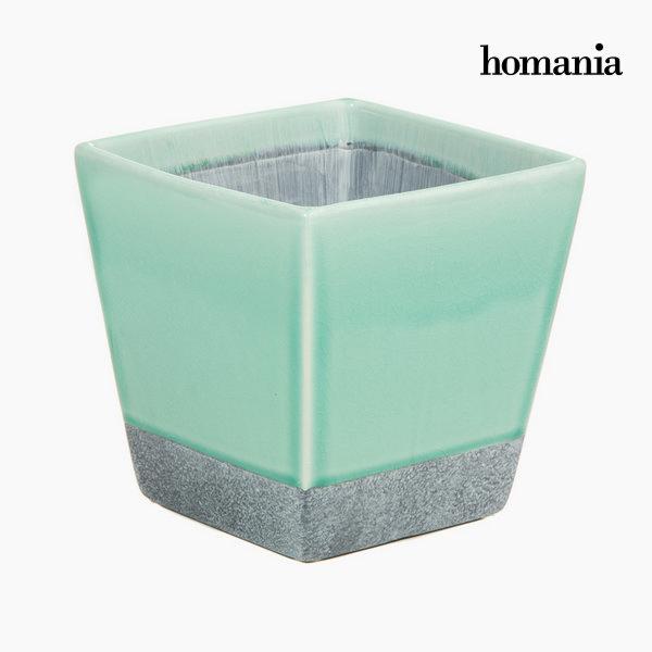 Tyrkysový keramický květináč by Homania