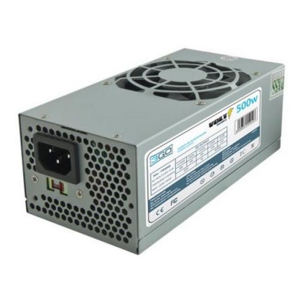 Zasilanie 3GO PS500TFX TFX 500W Pasywny PFC Szary Metaliczny Matowy