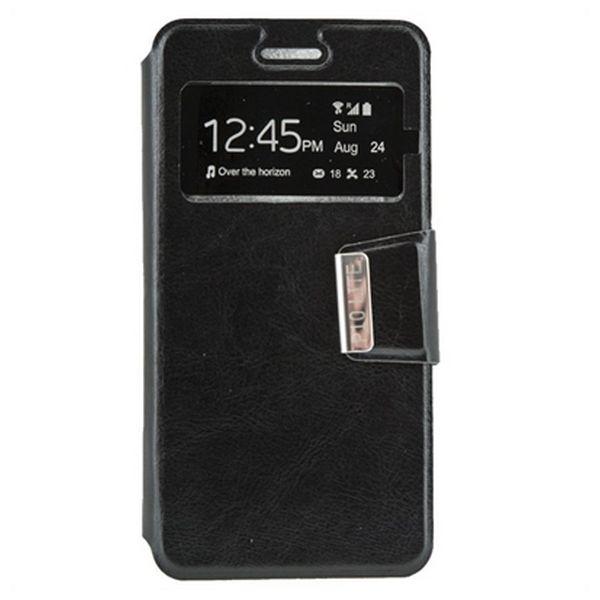 Pouzdro na knihu Ref. 100489 Huawei P10 Lite Černý