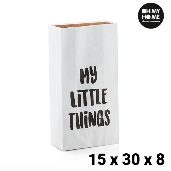 Papírová Taška Malá Oh My Home (15 x 30 x 8 cm)