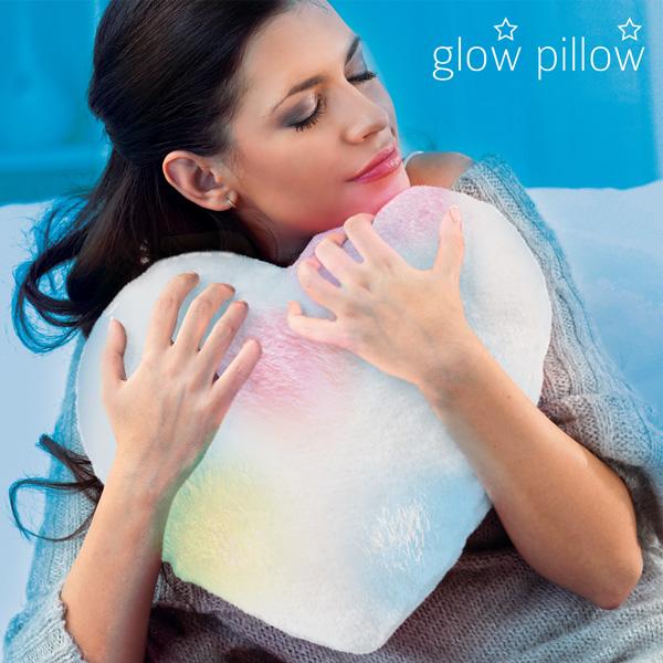 Poduszka LED Serce Glow Pillow