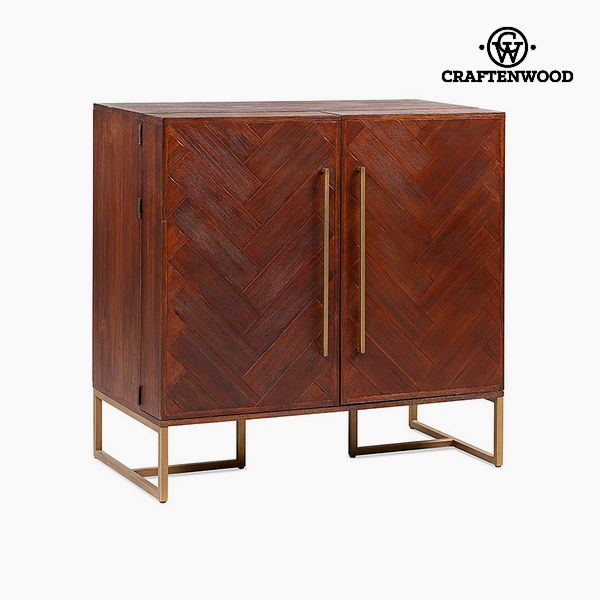 konzole Mdf Akátové dřevo (100 x 50 x 100 cm) - Chocolate Kolekce by Craftenwood