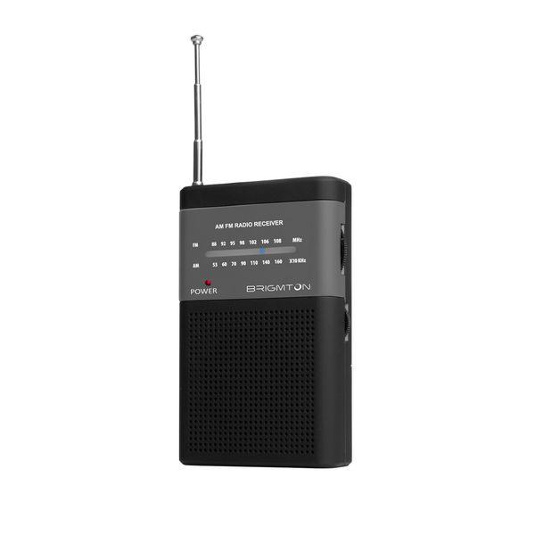 Přenosné rádio BRIGMTON BT-350-N Černý
