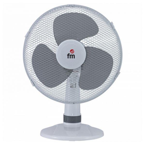 Stolní ventilátor Grupo FM S-140 Bílý