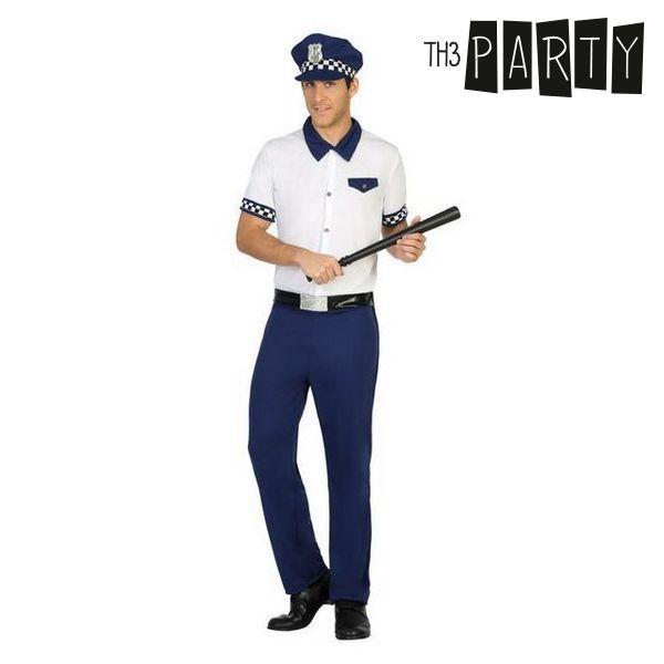 Kostým pro dospělé Th3 Party Policajt - XS/S