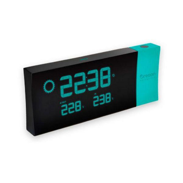 Radiobudík s LCD displejem Oregon Scientific BAR-223-P Modrý