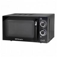 Mikrohullámú Sütő Grillsütővel Obergozo MIG2031 20 L 700W Fekete