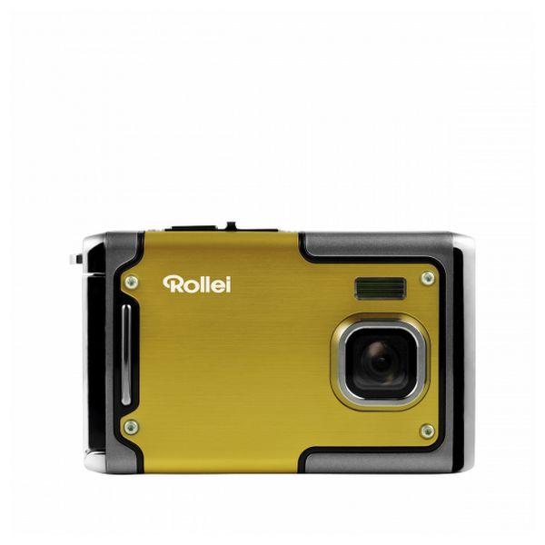 Aparat kompaktowy Rollei Sportsline 85 Żółty Czarny