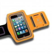 Sportovní neoprenové pouzdro na telefon X-ONE 106139 Velikost M Oranžový