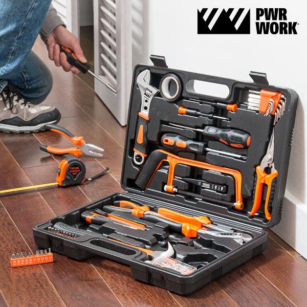 Skrzynka Narzędziowa PWR Work (108 narzędzi)