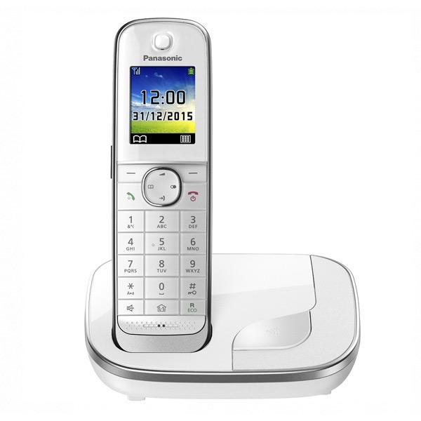 Telefon Bezprzewodowy Panasonic KX-TGJ310SPW DECT 1,8