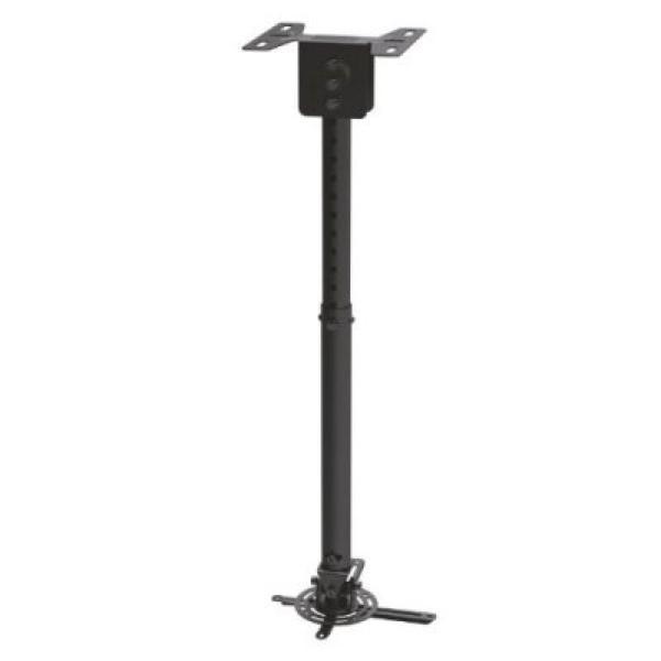 Naklápěcí Otočný Stropní Držák na Projektor TooQ PJ3030TN-B 20kg 57,5 - 82,5 cm -20º/+20º 360º Černý