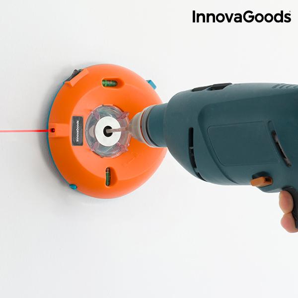 Zbieracz Pyłu do Wiertarek z Poziomicą i Markerem Laserowym InnovaGoods