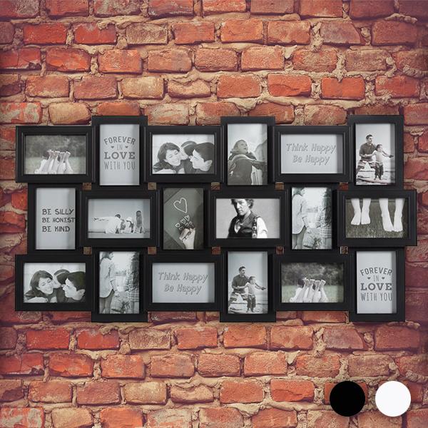 Ramka na Zdjęcia XXL (18 zdjęć) - Biały