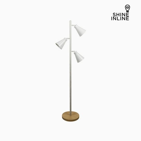Stojací lampa Bukové dřevo Železo (44 x 27 x 141 cm) by Shine Inline