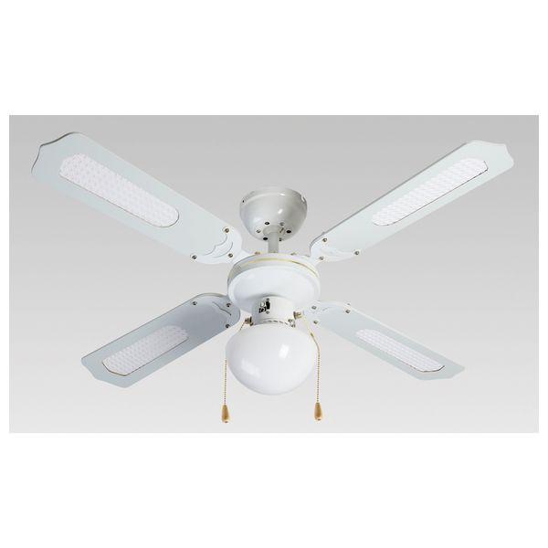 Stropní ventilátor se světlem Grupo FM VT-CLASSIC-105B 50W Bílý