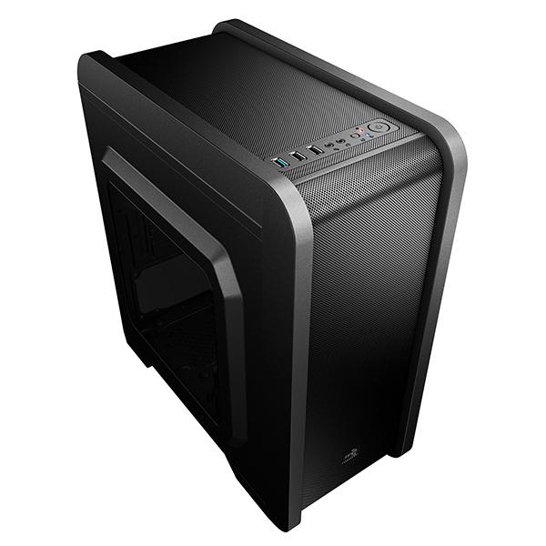 Obudowa Micro ATX Aerocool ICACMM0180 QS240 USB 3.0 Czarny
