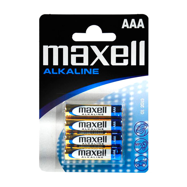 Alkalické Baterie Maxell LR03-MN2400 AAA 1,5 V