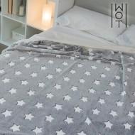 Miękki Koc Gwiazdy Wagon Trend 130 x 160 cm