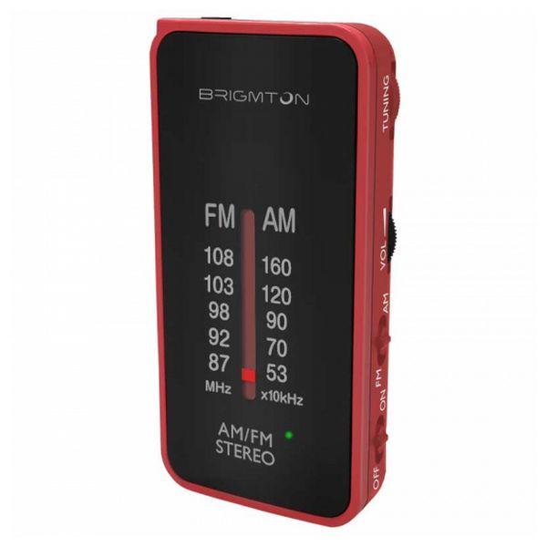 Přenosné rádio BRIGMTON BT224 Červený