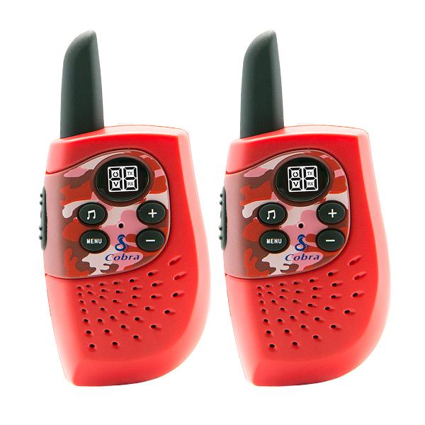 Přenosná vysílačka Cobra PMR HM230 3 KM Červený