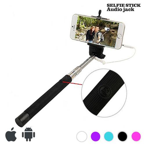 Stativ na Selfie s kabelem - Černý