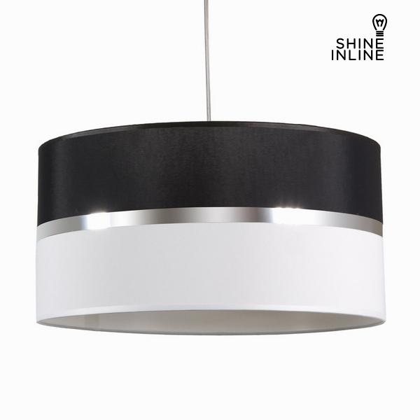 Závěsná lampa, černá a bílá by Shine Inline