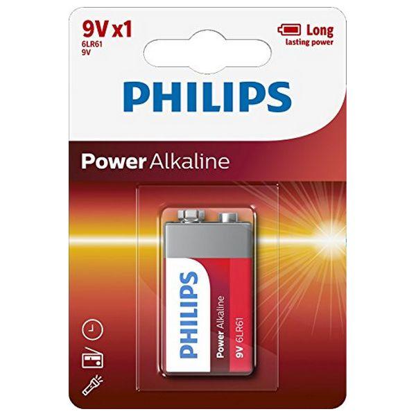 Alkalická baterie Philips 6LR61 9V