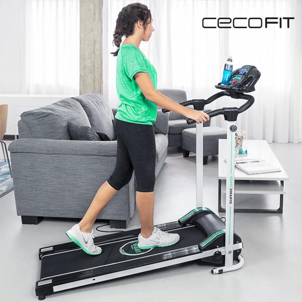 Skládací Běžecký Pás s Reproduktory Cecofit Run Step 7009