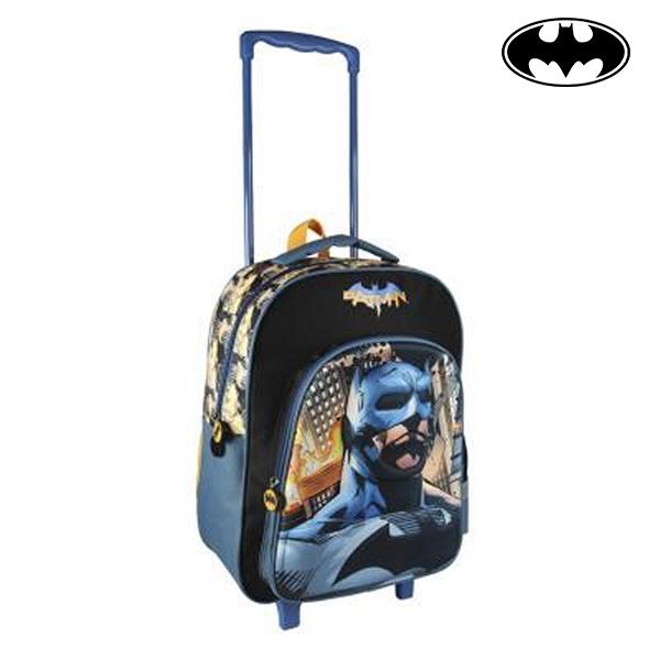 Školní taška na kolečkách 3D Batman 385