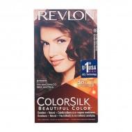 Farba bez Amoniaku Colorsilk Revlon Miedziany złoty kasztan